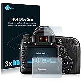6x Savvies Protector Pantalla para Canon EOS 5D Mark IVProtector Transparente