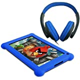 "Point of View TAB-P721 Tablette Tactile 7"" (17,78 cm) Cortex A9 1,2 GHz 8 Go Android Jelly Bean 4.2.1 Wi-Fi Noir + Casque Bleu"