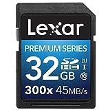 Lexar Premium II 300X 32GB SDHC U1 Scheda di memoria - LSD32GBBEU300