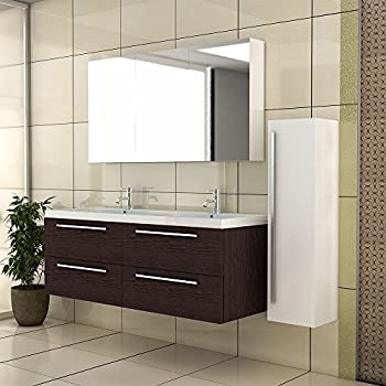 Waschbeckenunterschrank mit spiegelschrank badm bel for Spiegelschrank doppelwaschbecken