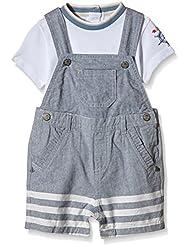 Chicco Baby-Jungen Bekleidungsset Ensemble 2 Pcs T-Shirt+Salopette Courte