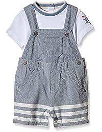 Chicco Ensemble 2 Pcs T-shirt+salopette Courte - Conjunto ropa interior Bebé-Niñas