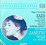 Leoncavallo: Zaza / Mascagni: Zanetto by Classic Memories