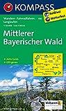 Mittlerer Bayerischer Wald: Wanderkarte mit Aktiv Guide, Radwegen und Langlaufloipen. GPS-genau. 1:50000 (KOMPASS-Wanderkarten, Band 196)