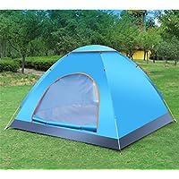 LTHWZP Tienda, impermeable Carpa, acampar al aire libre, apertura automatica, parabrisas,