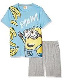 Minions Despicable Me Chicos Pijama mangas cortas - Azul