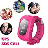 Hangang gps watch SOS Locator Device Tracker for Children Safe Anti Lost Smart