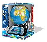 Clementoni - 52267-Exploraglobe Premium - Le globe interactif évolutif-Jeu éducatif