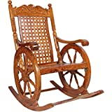 Furnish Living Side Round Rocking Chair