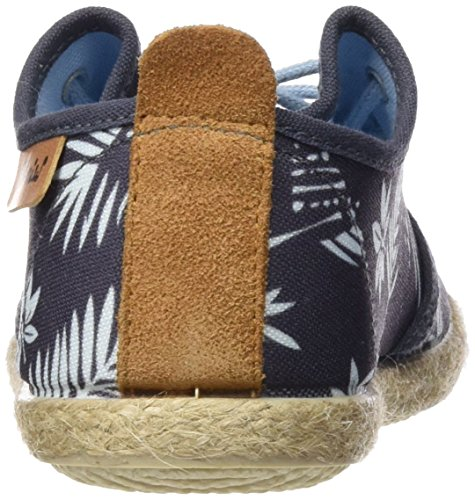 Cheiw  47108, Basket , garçon Multicolore - Palmeras azul / Napa pu camel