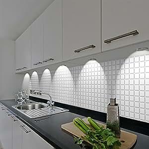 PVC 3D Wandplatte 955x480mm Küche Bad Diele Deko Mosaik ...