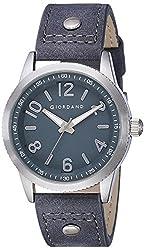 Giordano Analog Blue Dial Mens Watch-A1053-02