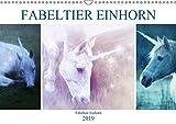 Fabeltier Einhorn (Wandkalender 2019 DIN A3 quer): Ein sanftes Zauberwesen (Monatskalender, 14 Seiten ) (CALVENDO Glaube)
