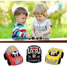 Mini Car Mini Vehiculos Tire Hacia Atrás Coches Juguete Plastic Cars Para Bebe Niños - 3Pcs(No necesita batería)