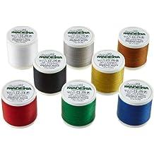Madeira 8017 Aerofil - Caja de hilos de costura (8 bobinas de 400 m)