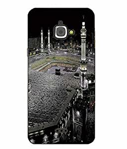 Make My Print Religion Printed Multicolor Hard Back Cover For InFocus M350