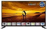 HKC Yasin 43E5000: 109 cm (43 Zoll) Smart-TV LED-Fernseher (Full HD, Triple Tuner, HEVC CI+, Mediaplayer via USB 2.0) [Energieklasse A]