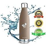 Aorin 500ml Trinkflasche (Braun) - 2