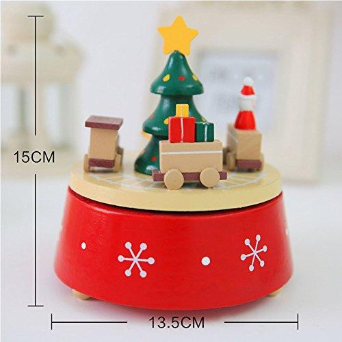 ihnachtsdrehendes Spieluhr Verzierungs Festival Geburtstags Geschenk (Fnaf 4 Box Halloween)