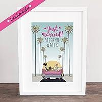 Poster, Kunstdruck, Bild, Traumpaar, Gastgeschenk, Hochzeit Geschenkidee Hochzeitsgeschenk, Deko: