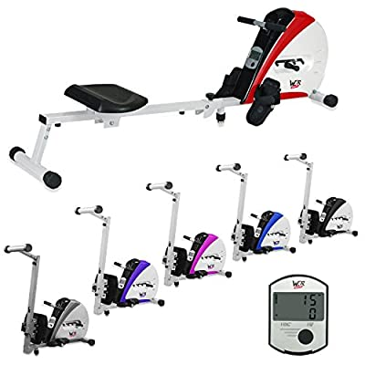 We R Sports Premium Rowing Machine Body Tonner Home Rower Fitness Cardio Workout Weight Loss from We R Sports