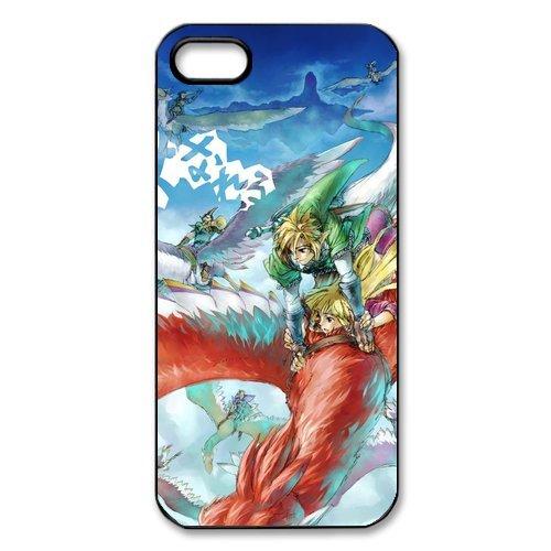 Étui de protection en TPU cuir Case Cover Pour iPhone 55S, The Legend of Zelda Coque pour iPhone 5S, Soft coque en silicone skin Housse Coque Shell de protection pour iPhone 55S