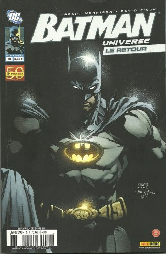 Batman universe 10 par David Finch Grant Morrison
