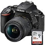 Nikon D5600 - Appareil Photo numérique Reflex + Objectif AF-P DX NIKKOR 18-55mm f/3.5-5.6G - Noir