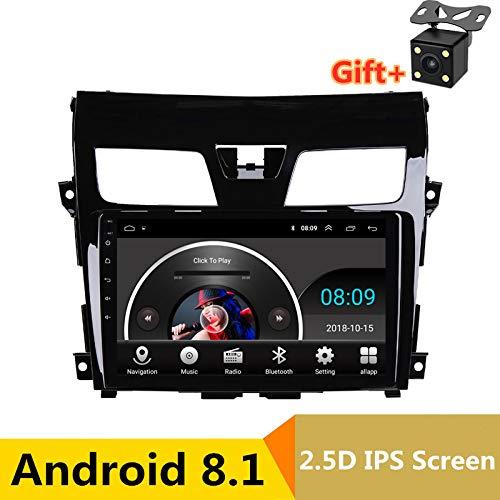 25,4 cm 2,5 D IPS Android 8.1 Auto DVD Multimedia Player GPS für Nissan Altima Teana 2013 2014 2015-2017 Audio Radio Stereo Navigation (Nissan Altima Auto Radio)