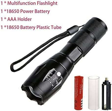 B, XML T6  5 modi LED Zoomable super super super Bright impermeabile torcia LED torcia da campeggio lavoro luce di emergenza lampada per 18650 batteria B07JZCPKF4 Parent | Alta qualità ed economico  | Di Qualità Fine  | Grande Svendita  0a4519