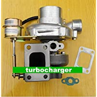 Gowe turbocompressore per gt2870GT28gt2871Compressore Housing AR 60turbina a/r .64T25flangia Oil Cooled 5Bulloni con attuatore Turbocharger Turbo