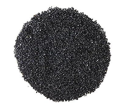 Dehner Aqua Aquarienkies, Glanzkies, Körnung 2 - 3 mm, 5 kg, schwarz