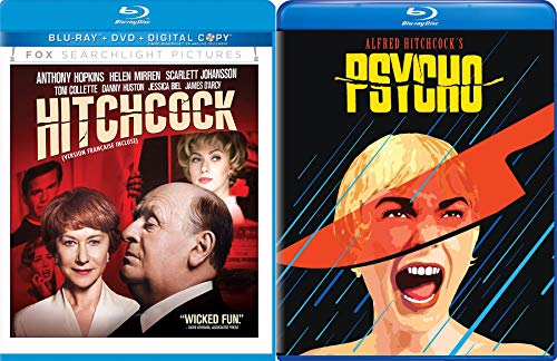 Suspense Meets His Match Alfred Hitchcock Life during the making of Psycho Anthony Hopkins Movie + Original Horror Psycho starring Janet Leigh Double Feature 2-Blu-ray Collection