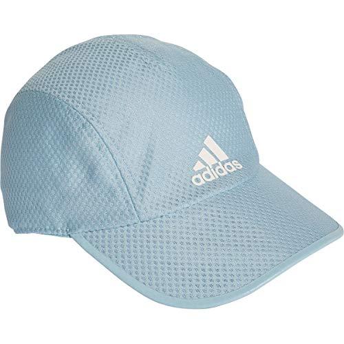 adidas Erwachsene R96 CC Cap, ash Grey s18/White Reflective, OSFM White-mesh-hut