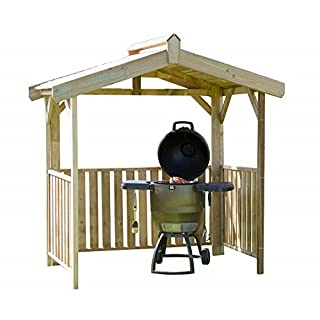 Garden Magic Goldenrod BBQ Shelter - Outdoor Garden Furniture