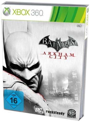 Batman: Arkham City - Steelbook Edition (exklusiv bei Amazon.de) (Xbox 360-spiele Arkham Asylum)