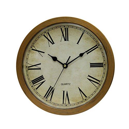 Bestomz Vintage reloj pared seguro gran secreto joyas