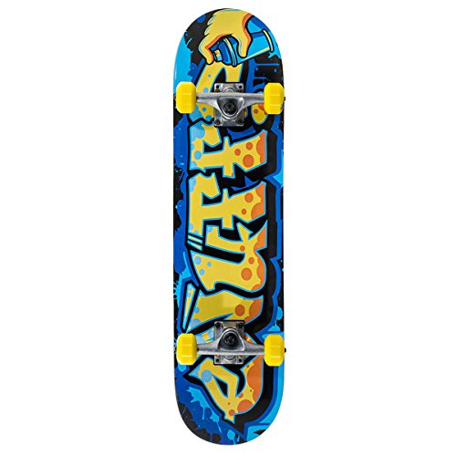 Enuff Mini Graffiti II Skateboard Unisexe adulte, Mini Graffiti II, jaune (mini yellow) 5016978350639