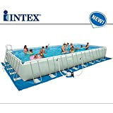 Piscine hors sol tubulaire ultra silver intex 7m32 x 3m66 for Piscine hors sol ultra silver 4 57 x 2 74
