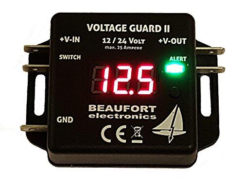 V-Guard II - Programmierbarer Batteriewächter 12V & 24V mit Display -