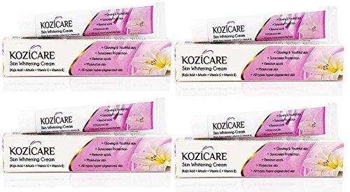 Kozicare Skin Whitening Cream 15gm - Pack of 4 For Whiter & Brighter Skin