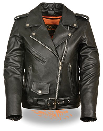 20 Pocket Liner (Milwaukee Leather Ladies Classic Style Motorcycle Jacket w/ Zip Out Liner (XX-Large) (XX-Large))