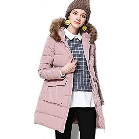 XYXY Inverno cotone giacca donna . pink