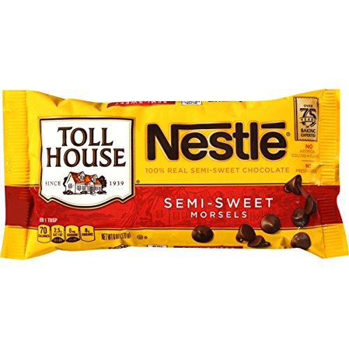 Nestle Semi Sweet Morsels, 1er Pack (1 x 170 g)