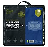 The Garden & Home Co Patio Set Cover, Grau
