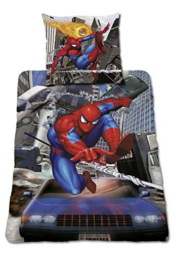 Global Labels Spiderman Bettwäsche Crash Renforce Baumwolle, 135 -