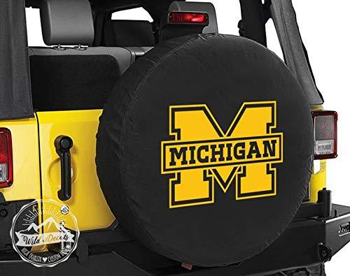 Celycasy Michigan Aufkleber/Michigan University of Michigan Autoaufkleber/University of Michigan Cup/University of Michigan Wolverines -