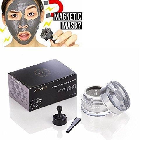 Aliver Magnétique Masque: mascarilla...