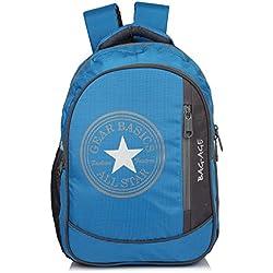 Bag-Age Allstar College School Backpack (Blue)