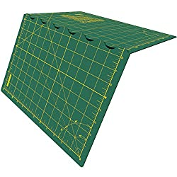 Olfa Folding Cutting Mat, Olefin, Green, A2